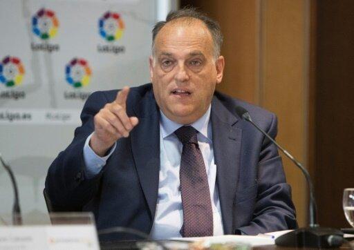 LFP-Präsident Tebas ordnet landesweite Kontrollen an