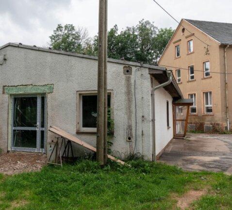 In dem künftigen Dorfgemeinschaftshaus in Rossau soll bereits in einigen Monaten gefeiert werden.