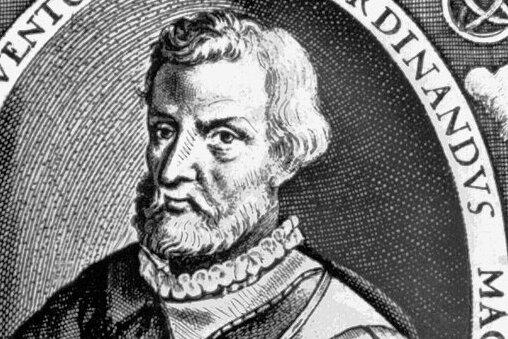 Der portugiesische Seefahrer Magellan in einer zeitgenössischen Darstellung.
