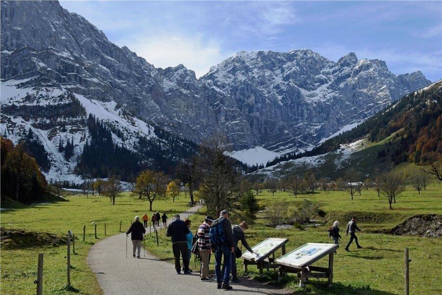 Beliebtes Ziel für Wanderer aus Deutschland, Österreich und auch aus anderen Ländern: Tirol.