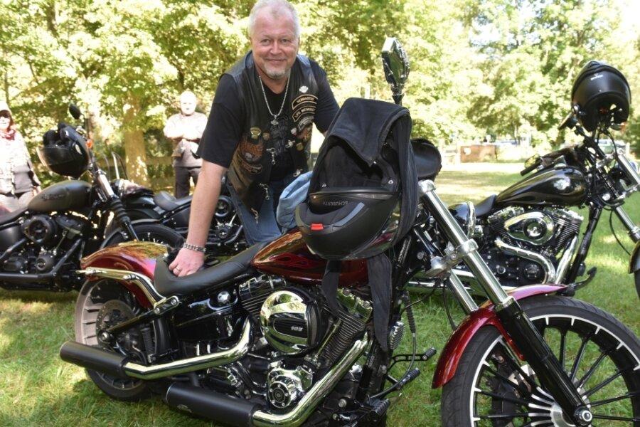 Wolfram Klein hält von den Plänen der Politik nichts. Denn der Lugauer fährt gerne mit seiner Harley-Davidson durch die Gegend. Doch unter der Woche bleibt für den Geschäftsführer eines Betriebs keine Zeit.