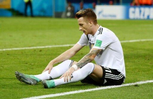 Wegen einer Fußprellung verpasst Reus das DFB-Training