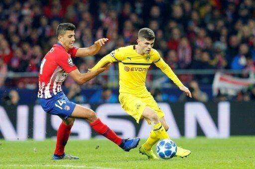 Athletico Madrid besiegt Borussia Dortmund mit 2:0