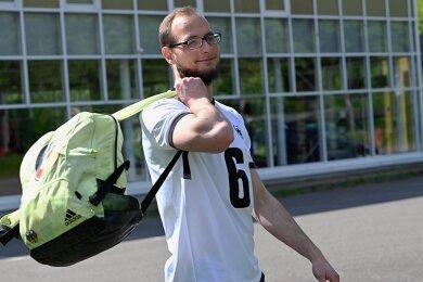 Der Chemnitzer Goalballer Oliver Hörauf ist in der Auswahl eine feste Größe.