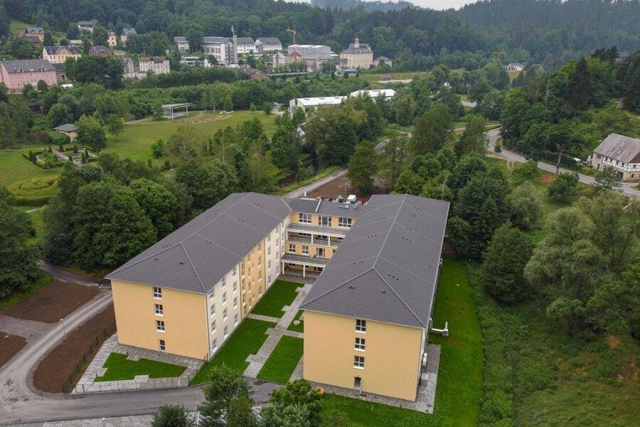 Unmittelbar neben Kurklinik und Kurpark ist in Thermalbad Wiesenbad die neue Seniorenresidenz entstanden. Dementsprechend eng soll künftig auch die Zusammenarbeit zwischen den Einrichtungen werden.