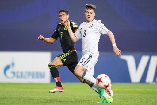 Dominik Schad während eines Spiels bei der U20-WM