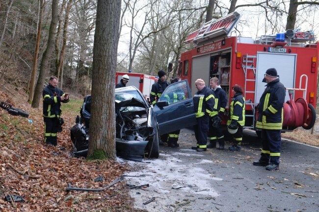 Die junge Frau wurde schwer verletzt ins Krankenhaus gebracht.