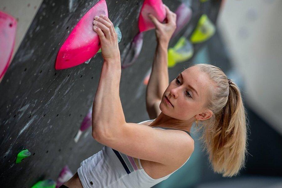 Lucia Dörffel aus Chemnitz konnte sich bei den Deutschen Meisterschaften dieses Mal nicht wie erhofft in Szene setzen.