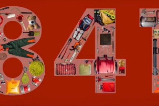 Mit einer fantasievoll gestalteten Zahl 841 werden die Besucher auf der Facebook-Seite der Feuerwehr Falkenau empfangen.
