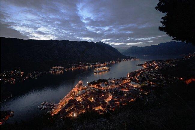 Die Bucht von Kotor ist der südlichste Fjord in Europa - der einzige im Mittelmeer.