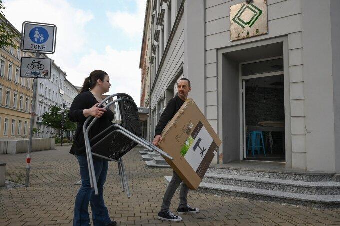 Sarah Günther und Rayk Hofmeister sind die neuen Betreiber der ehemaligen Coffee-Art-Bar am Brühl.