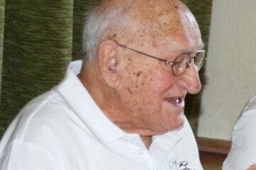 Erich Butze feierte im Kreise seiner Familie seinen 100. Geburtstag.