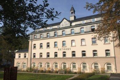 Der Chefsessel im Rathaus von Schwarzenberg wird neu besetzt.