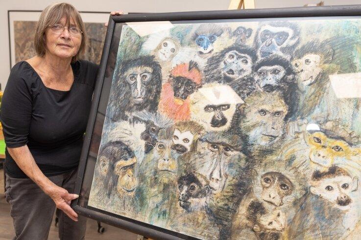 Mechthild Pöhler liebt die Tiere und die Natur. Die Künstlerin aus Kemtau nutzt ihre Fähigkeiten, wichtige Themen zur Sprache zu bringen. Sie will, dass die Menschen hinschauen.