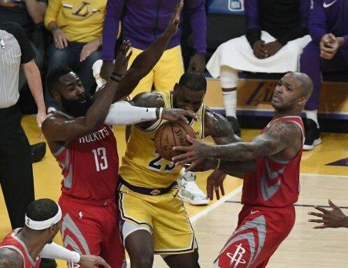 Kein Durchkommen für James gegen die Houston Rockets