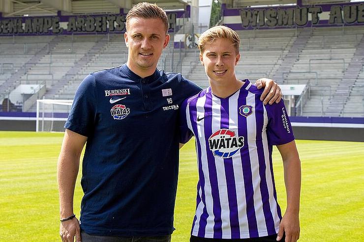 Sam Schreck verstärkt den Zweitligisten FC Erzgebirge Aue