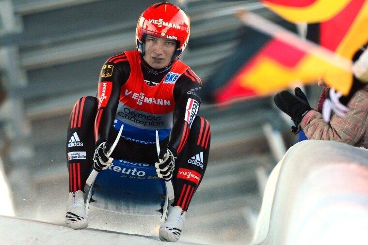 Tatjana Hüfner fuhr nach mehrwöchiger Verletzungspause bei der EM in Oberhof auf Rang zwei.