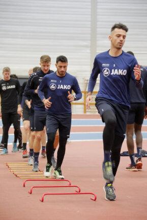 Am Sonntag fliegt das Team ins Trainingslager nach Belek.