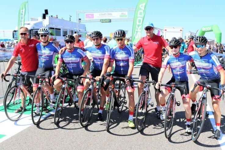 Wie im Vorjahr auf dem Sachsenring dabei: Das Radteam Berthold aus Hainichen startet am Wochenende bei der Deutschen Meisterschaft, die auf dem Grand-Prix-Kurs in Hohenstein-Ernstthal ausgefahren wird.