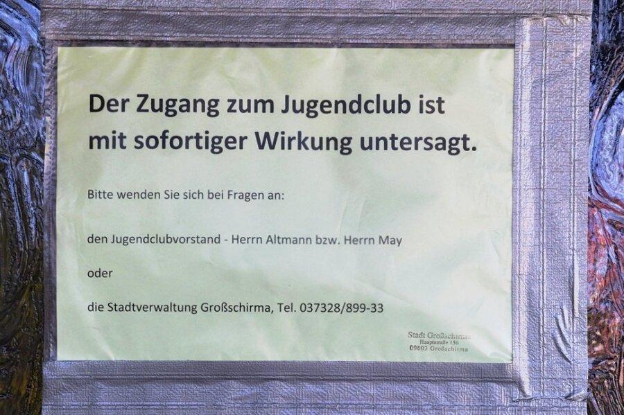 Im derzeit geschlossenen Jugendclub in Siebenlehn sollen die Elektroanlagen überprüft werden.