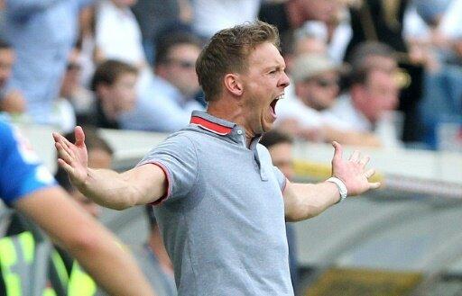 Hoffenheim-Trainer Julian Nagelsmann ist wütend