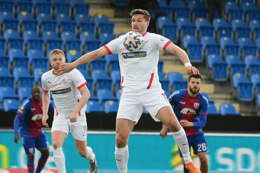 Ronny König erzielte kurz nach Anpfiff das 1:0 für den FSV.