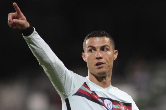 Portugals Star Cristiano Ronaldo