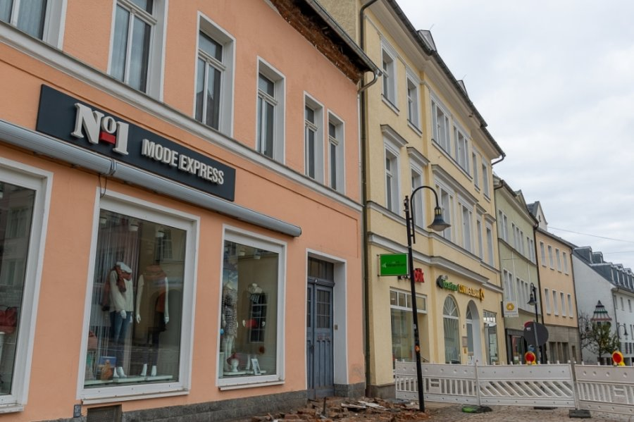 Nicolaistraße: Saniertes Haus bröckelt