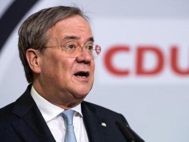 Gibt nicht viel auf die Werte-Union: CDU-Chef Armin Laschet.