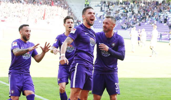 Der FC Erzgebirge Aue feierte am Sonntag den ersten Saisonsieg.