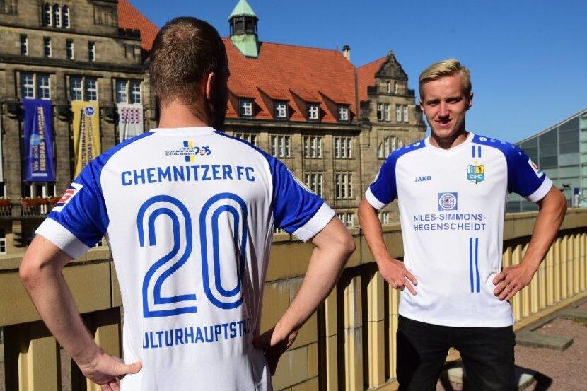 CFC läuft im DFB-Pokal mit besonderen Trikots auf