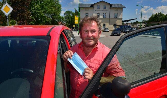 Auch der Frankenberger Fahrlehrer Falko Schurig beklagt die langen Wartezeiten für Fahrschüler. In der Ausbildung gebe es pandemiebedingt einen Stau.