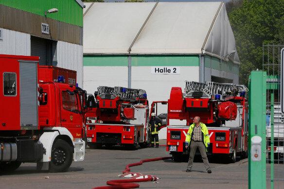 Chemnitz: Feuer am Fischweg