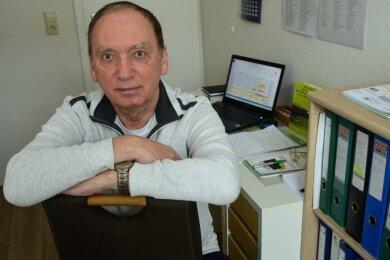 Volker Meinel ist seit Jahren Vorsitzender des Sportgerichts im Kreisverband Mittelsachsen. Im Moment hat der Rentner wenig zu tun.
