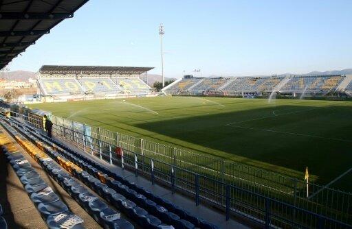 Auch das Stadion in Tripoli ist nach dem General benannt