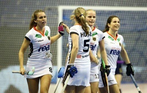 Die deutschen Hockey-Damen starten erfolgreich in die WM