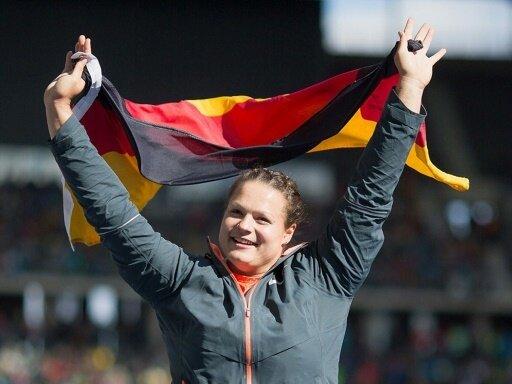 Vor Heim-EM: Christina Schwanitz gut in Form