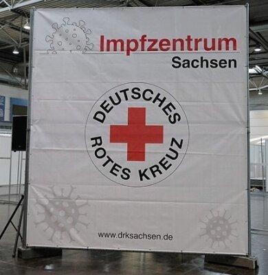 Eines der sächsischen Corona-Impfzentren.