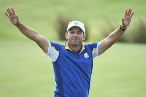 Golfprofi Sergio Garcia vor Europa-Tour-Sieg