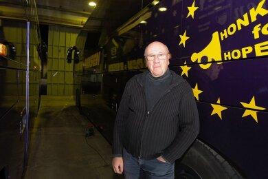 Reiseunternehmer Thomas Kaden will zur Plauener Oberbürgermeisterwahl antreten.