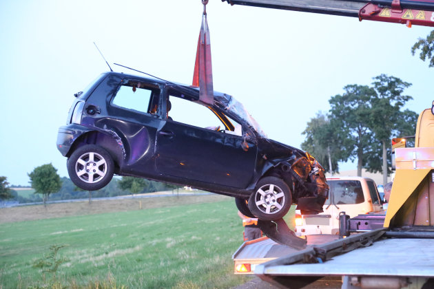 Eine 37-jährige Seat-Fahrerin ist am Freitagabend bei einem Unfall schwer verletzt worden.