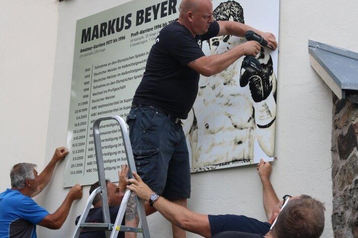 Boxer Markus Beyer unvergessen