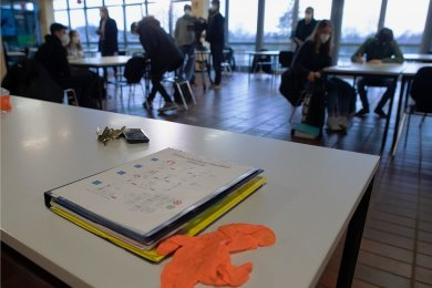 Die vogtländischen Schulen bereiten sich derzeit auf den Präsenzunterricht vor.