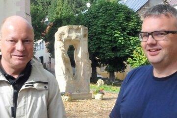 Hermann Nafziger aus Planegg (l.) und Silvio Wagner.