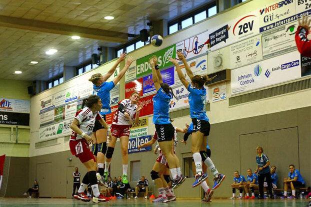Handball: BSV Sachsen gewinnt Heimspiel