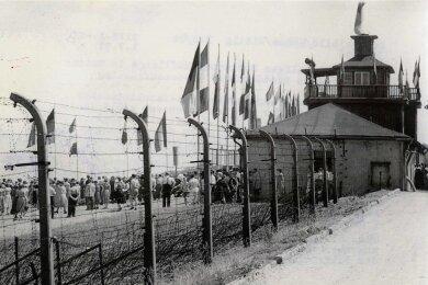 Die Gedenkstätte Buchenwald.