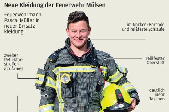 Mülsen macht Feuerwehrarbeit sicherer