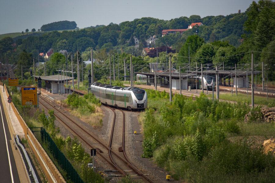 Bahnhof Flöha wird barrierefrei: Umbau beginnt