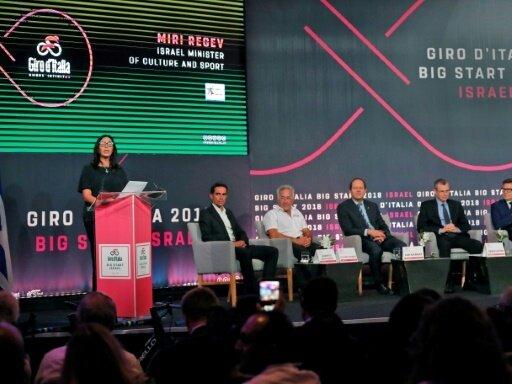 Giro-Organisatoren ändern Namen nach Beschwerde Israels