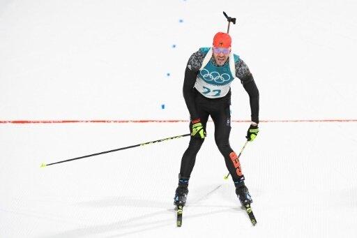 Belegte einen enttäuschenden 30. Platz: Arnd Peiffer